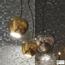 Adriani e RossiP196 2X gold — Потолочный подвесной светильник CHERRY LAMP BIG