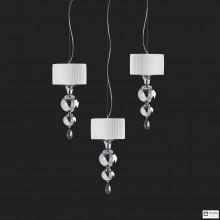 Aiardini101 SPL 3X2L — Потолочный подвесной светильник Ginevra