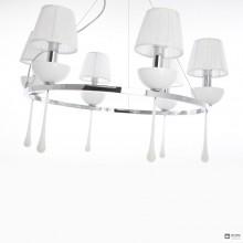 Aiardini120 SP SC 6L — Потолочный подвесной светильник Sinfonia