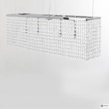 Aiardini33 SP 80X30 H25 6L — Потолочный подвесной светильник Melody