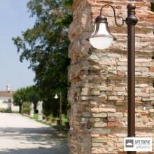 Aldo Bernardi7930+PAL-H2,5 — Напольный уличный светильник Loggia