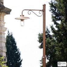 Aldo BernardiLAR.164.1+PAL-H3 — Напольный уличный светильник Re Lear