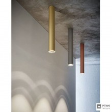 Aldo BernardiT80 PL CM — Потолочный накладной светильник Tubo