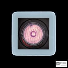 Ares100174132 — Встраиваемый в грунт, потолок или стену светильник Tapioca RGB Power LED / 70x70mm - Transparent Glass - Narrow Beam 10°