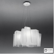 Artemide0454020A — Светильник потолочный подвесной LOGICO SOSPENSIONE 3x120