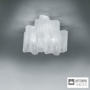 Artemide0458020A — Светильник потолочный накладной LOGICO SOFFITTO 3x120