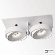 Delta Light202 60 00 02 W — Потолочный встраиваемый светильник GRID IN ZB 2 QR W