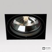 Delta Light202 61 00 01 B — Потолочный встраиваемый светильник GRID IN TRIMLESS 1 QR B
