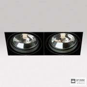 Delta Light202 61 00 02 B — Потолочный встраиваемый светильник GRID IN TRIMLESS 2 QR B