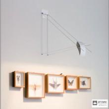Flos20502 a — Настенный встраиваемый светильник ART MONO