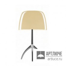 Foscarini026001R2 12 — Настольный светильник Lumiere 05 grande Alluminio/Bianco caldo