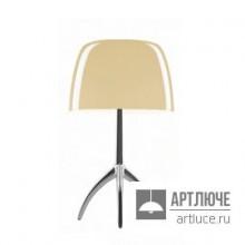 Foscarini026001R2 12 D — Настольный светильник Lumiere 05 grande Alluminio/Bianco caldo dimmer