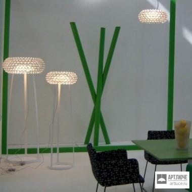 Foscarini138003 52 — Напольный светильник Caboche media Giallo oro