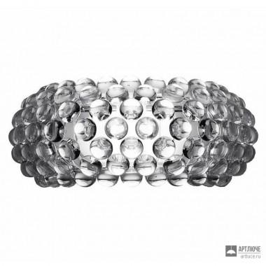 Foscarini138005 16 — Светильник настенный накладной Caboche media Trasparente