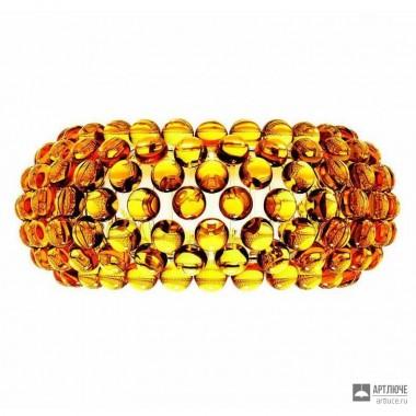 Foscarini138005 52 — Светильник настенный накладной Caboche media Giallo oro