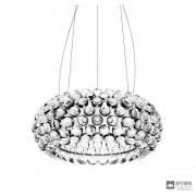 Foscarini138007L 16 — Светильник потолочный подвесной Caboche media LED Trasparente
