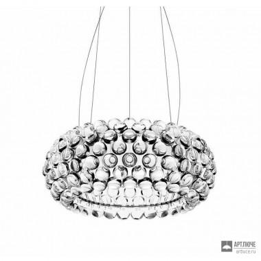 Foscarini138007LD 16 — Светильник потолочный подвесной Caboche media LED dimmbar Trasparente