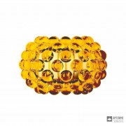 Foscarini138025 52 — Светильник настенный накладной Caboche piccola Giallo oro