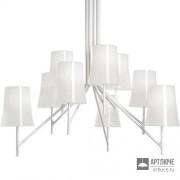 Foscarini2210089 10 — Светильник потолочный подвесной Birdie 9 Bianco