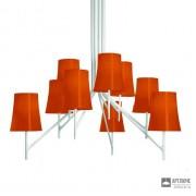 Foscarini2210089 53 — Светильник потолочный подвесной Birdie 9 Arancio