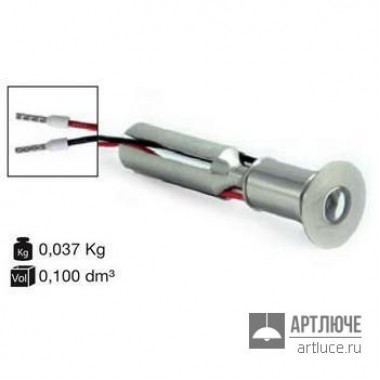 I-LED85948 — Потолочный встраиваемый светильник Aspho 120°, никель