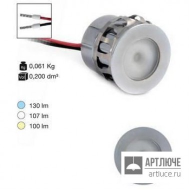 I-LED86407 — Потолочный встраиваемый светильник Picrol, серый
