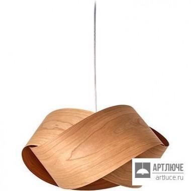 LZFNUT S 21 Natural Cherry — Потолочный подвесной светильник Nut