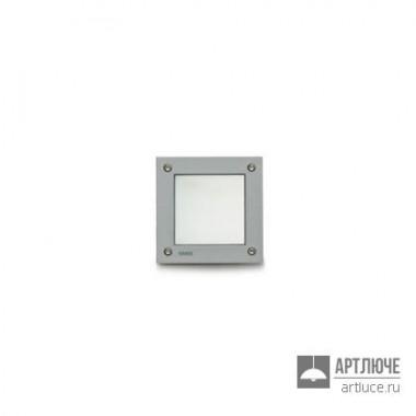 Simess4543w14 — Уличный настенный встраиваемый светильник Minibrique Square
