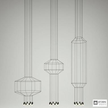Vibia030204 1A — Потолочный подвесной светильник WIREFLOW