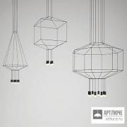 Vibia030604 1A — Потолочный подвесной светильник WIREFLOW