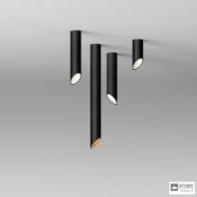 Vibia825104 1B — Потолочный накладной светильник 45