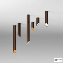 Vibia825152 1B — Потолочный накладной светильник 45